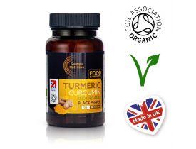 Organic Turmeric + Black Pepper Capsules