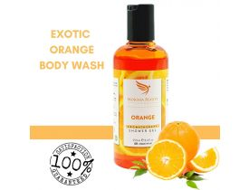 Orange Shower Gel  Vegan & Cruelty Free