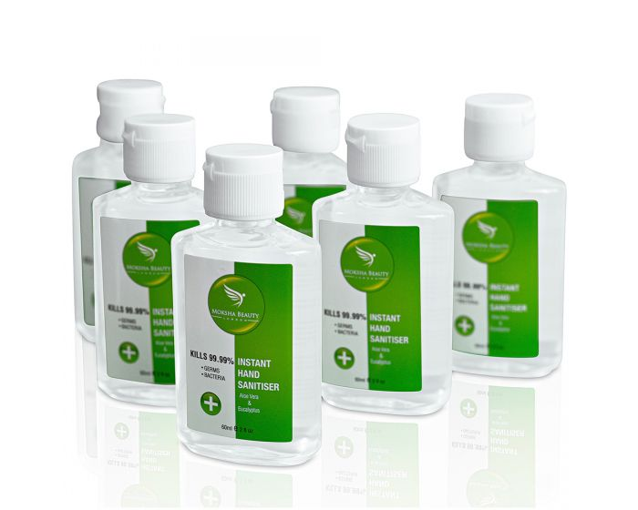 Antibacterial Hand Sanitizer Gel [6-Pack]