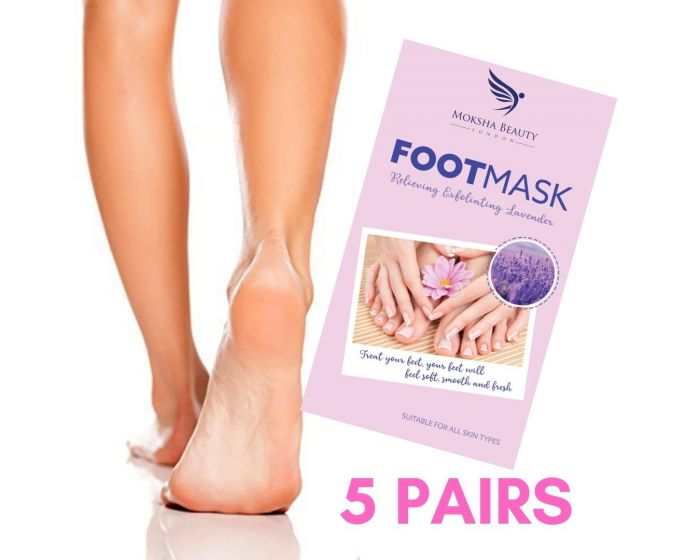 Exfoliating Foot Peeling Mask - 5 Pairs