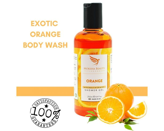 Orange Shower Gel  Vegan & Cruelty Free