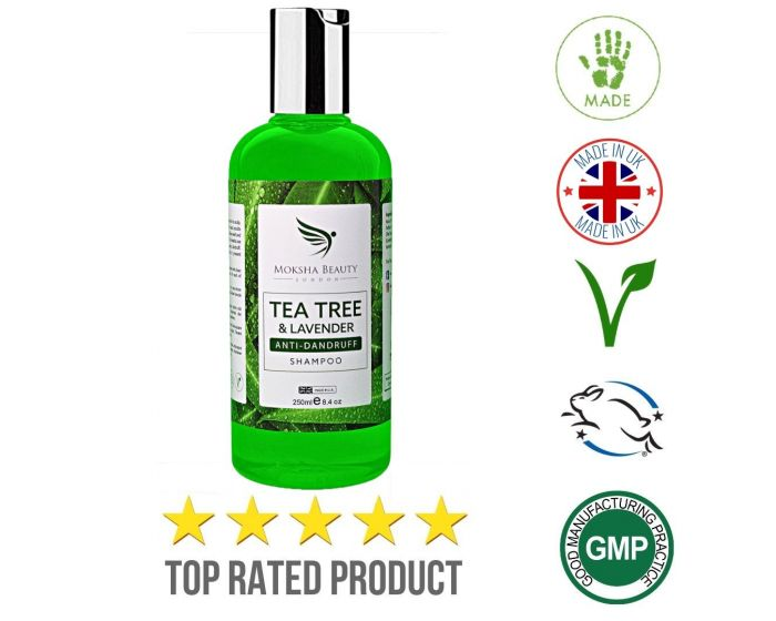 Tea Tree Anti Dandruff Shampoo