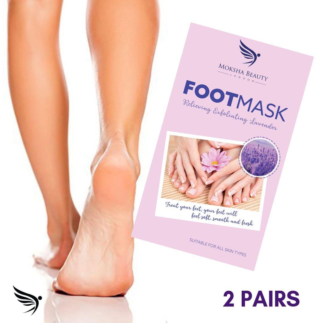 Exfoliating Foot Peeling Mask - 2 Pairs