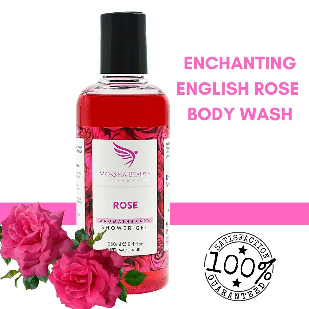 Rose Shower Gel 250ml Vegan & Cruelty Free